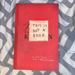 """""""This is Not a Book"""" by Keri Smith"""